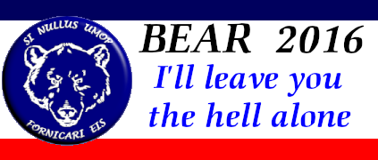 Bear Logo 2016: I'll leave you the hell alone.